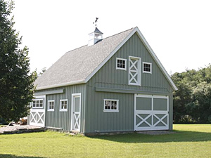 POLE BARN STYLE SHED PLAN | Free House Plan Reviews