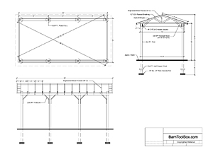 attached carport building plans