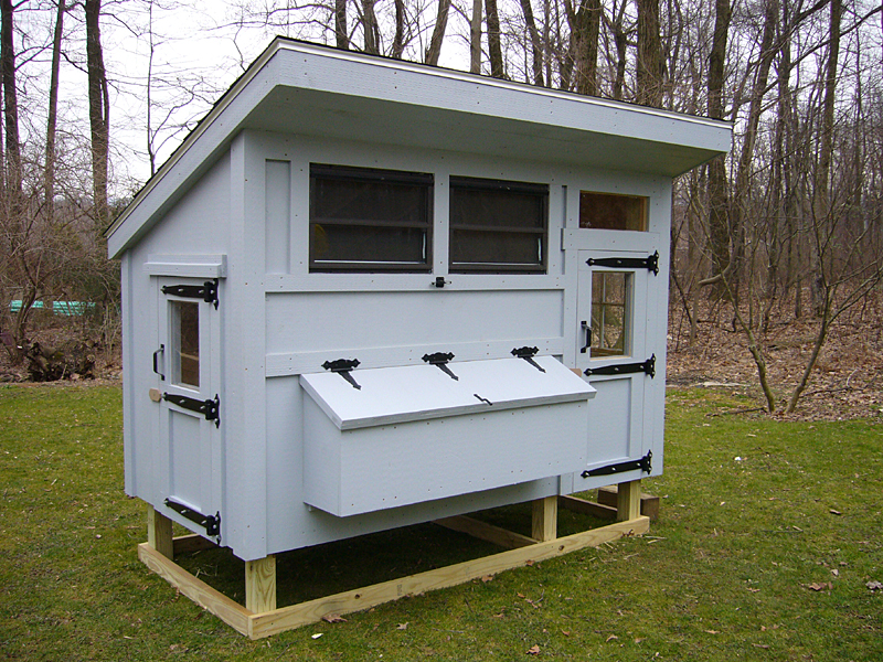 Chicken Coop Is A Structure That Provides Chickens With Shelter, Protection  From Predators, Place To Roost, Feed And To Lay Eggs. Therefore, When  Building A ...