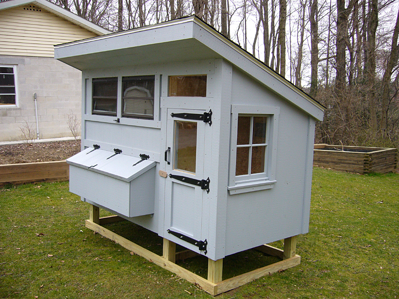Free Chicken Coop Plans Coop Construction Details