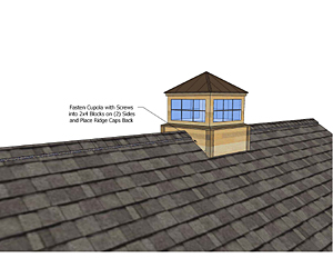 Cupola Installation Instructions How To Install Cupola