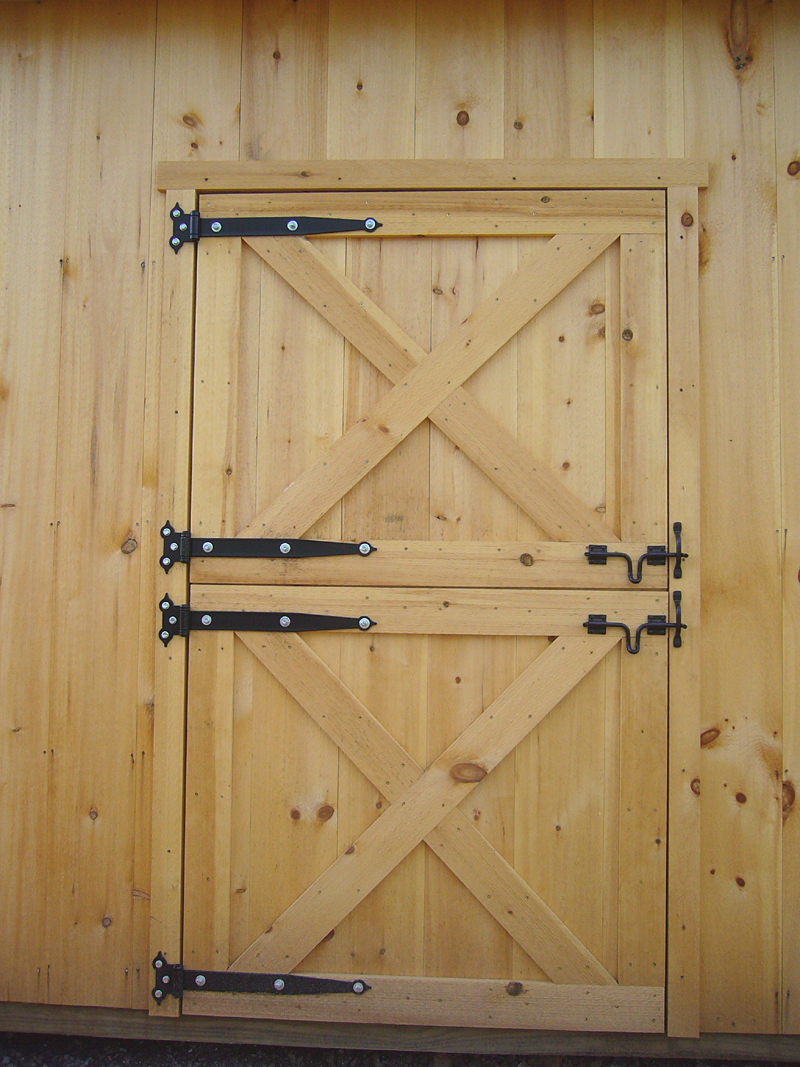 How To Build Wooden Dutch Door Free Dutch Door Plans