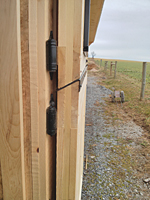 Dutch Door Cribbing Angle