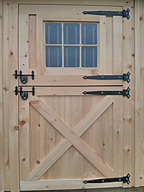 Construction of Wooden Dutch Door - Free Dutch Door PDF Prints & How to Build Wooden Dutch Door | Free Dutch Door Plans Pezcame.Com