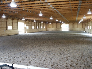 Indoor Horse Arena Construction