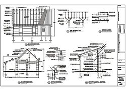 Free barn plans professional blueprints for horse barns for Free pole barn plans with material list