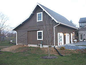 Custom Built Barn