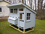 Front View of Chicken Coop