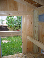 Interior of Chicken Coop House