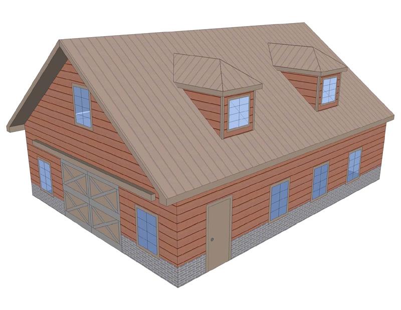 Dormer styles images of roof dormers for Prefab eyebrow dormer