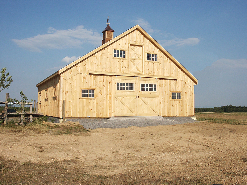 Home ideas for Equestrian barn plans