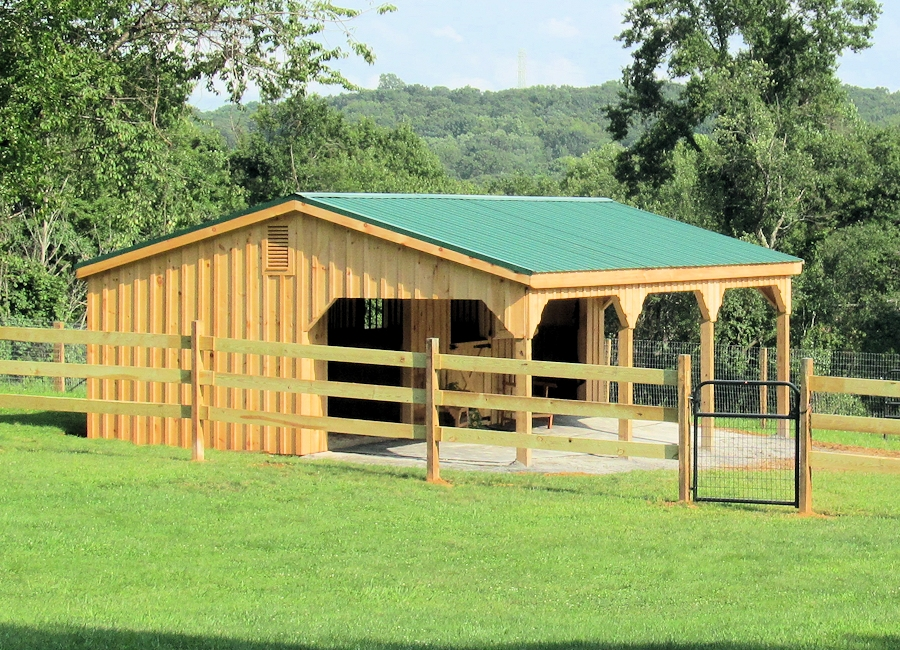 How to build a lean to shed plans quick woodworking projects for Horse barn plans free