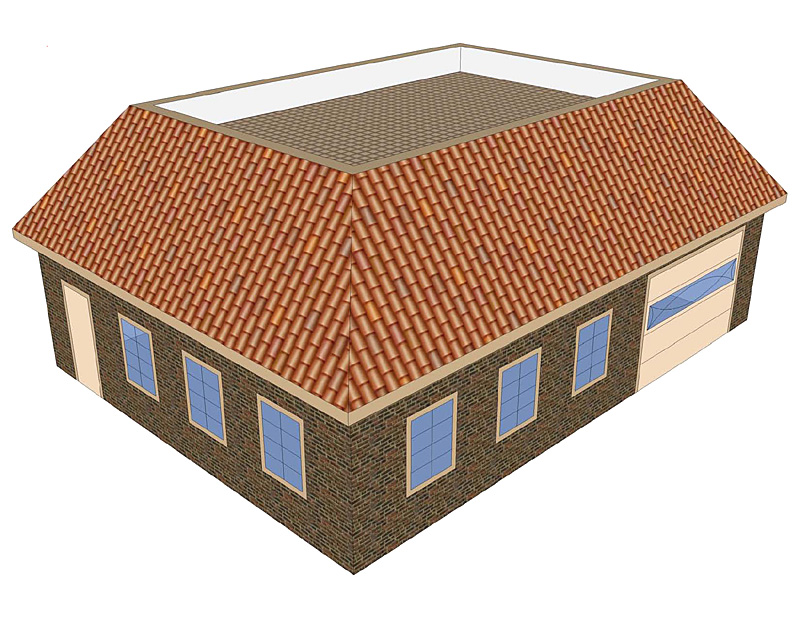 Roof types barn roof styles designs for What is a mansard roof