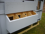 Coop Nesting Box with Open Cover