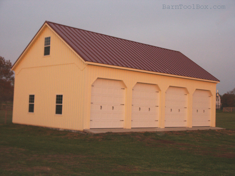 Outstanding Pole Barn with Loft 800 x 600 · 443 kB · jpeg