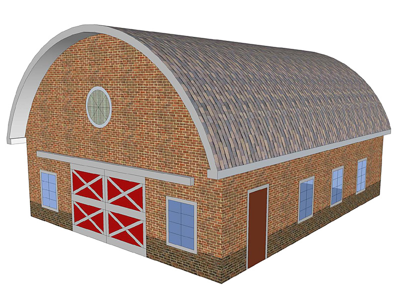 Beautiful Round Roof Sc 1 St Barn ToolBox
