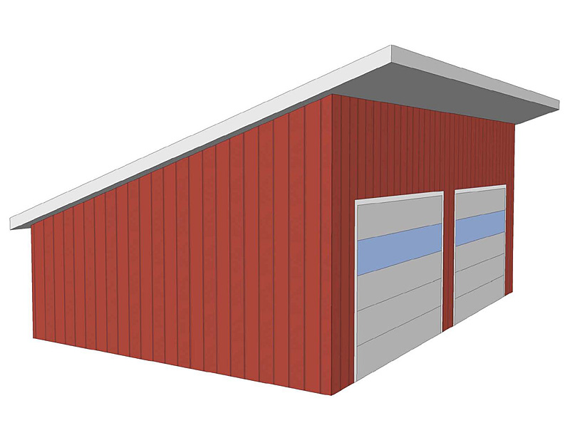 Roof types barn roof styles designs for Garage roofing options