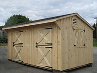 10'x18' Shed Row Barn