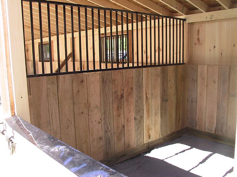 Barn Shed Construction Shedrow Horse Barns