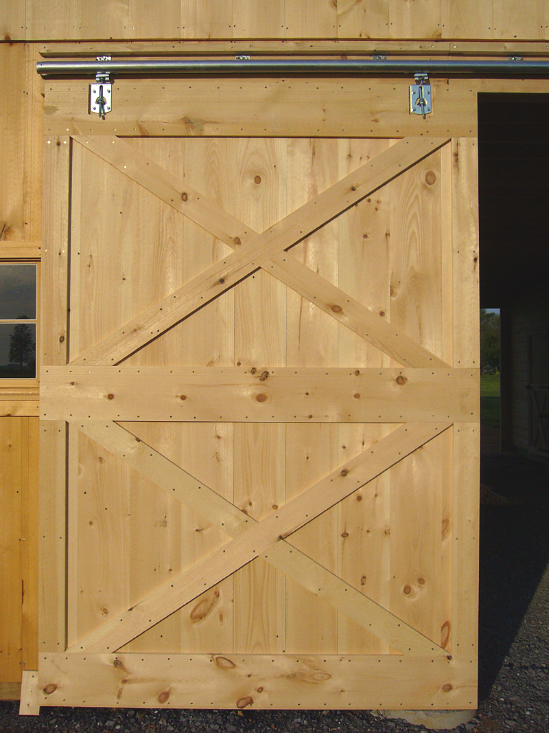 Sliding Barn Door Track : Barn door construction how to build sliding doors