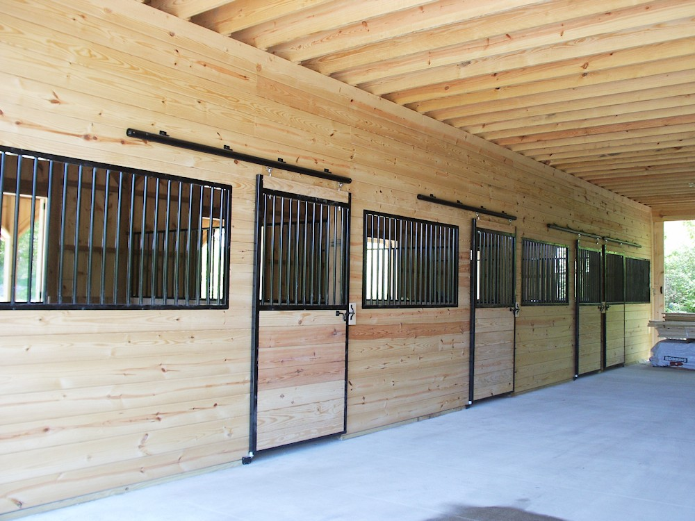 Free Standing Horse Stall Kits Construction Of Horse Stalls