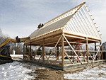 Barn Construction Images